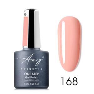 Oja semipermanenta Amy Cosmetic - One Step 168