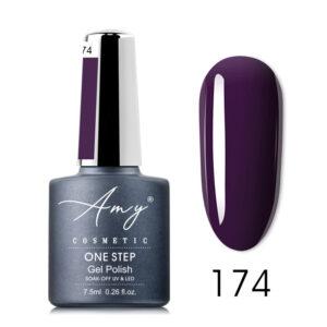 Oja semipermanenta Amy Cosmetic - One Step 174